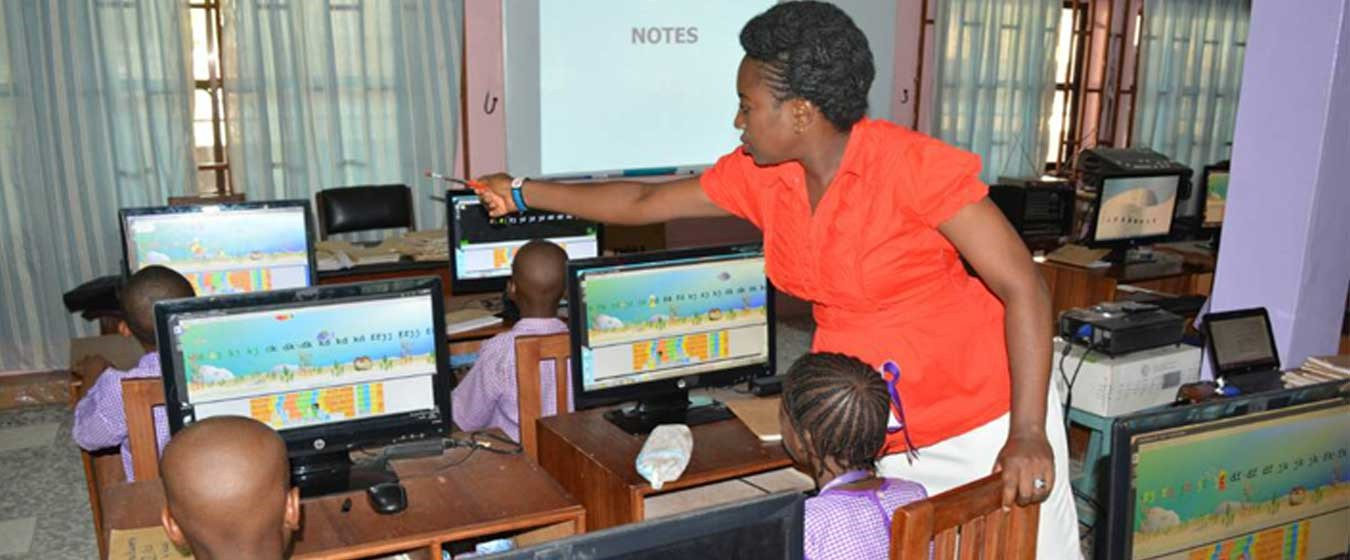 WE LAY A SOLID FOUNDATION OF  ICT KNOWLEDGE FOR OUR PUPILS.